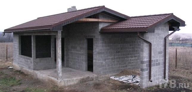 Дом строительство своими руками из керамзитобетонных блоков
