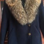 Пальто с воротником енот, Санкт-Петербург