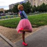 Юбка пышная из фатина пыльно розовая, Санкт-Петербург