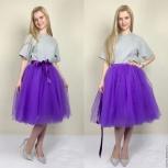 женские юбки пачки из фатина . пышные . фиолетовая, Санкт-Петербург