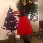 красная красивая женская юбка из фатина ., Санкт-Петербург