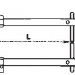 Комплект плеч 250мм - TECNA 7502, Санкт-Петербург