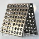 Плитка для пола металлическая 300х300х1,2 мм /64 отверстия/, Санкт-Петербург