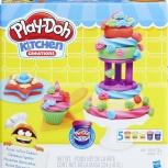 Делаем торт. Набор для лепки Play-Doh, Санкт-Петербург