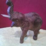 Деревянная фигурка -  Слон, Санкт-Петербург