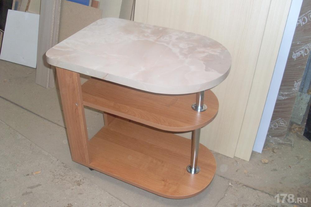 Сервировочный столик на колесиках мебель на заказ арт.713 , .