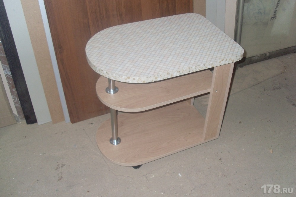 Столик переносной сервировочный мебель на заказ арт.499 , фо.
