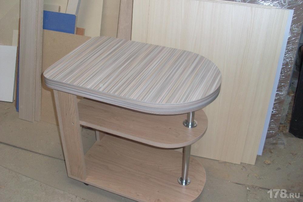Купить сервировочный складной столик мебель на заказ арт.712.